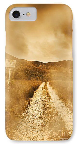 Dead End Road IPhone Case by Jorgo Photography - Wall Art Gallery
