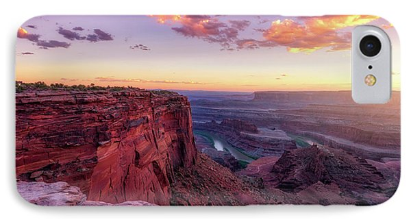 IPhone Case featuring the photograph Dead Horse Point Sunset by Darren White