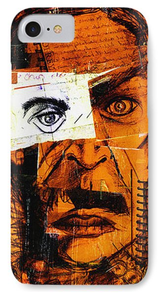 Burning Man IPhone Case by Nicholas Ely