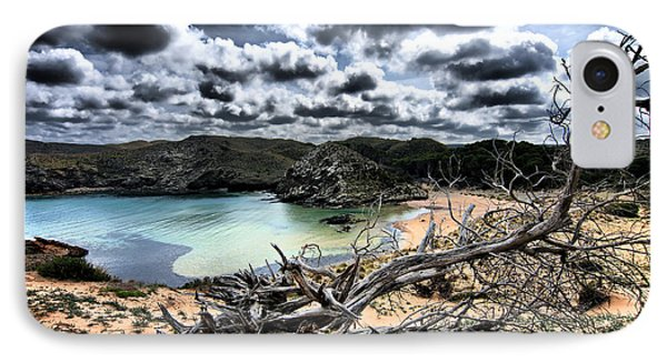 Dead Nature Under Stormy Light In Mediterranean Beach IPhone Case