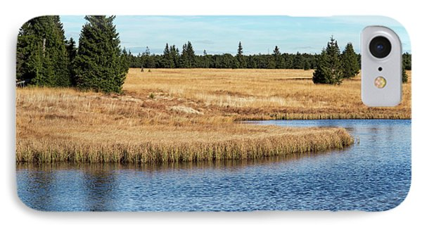 Dead Pond In Ore Mountains IPhone Case by Michal Boubin