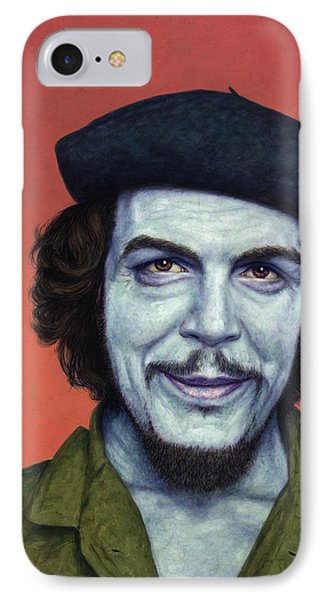 Dead Red - Che IPhone Case by James W Johnson
