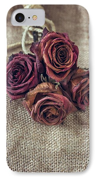 Dead Roses IPhone Case by Carlos Caetano