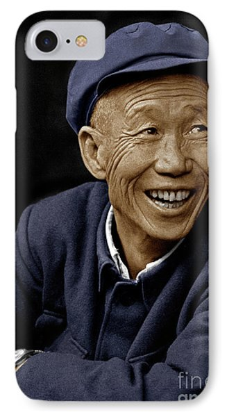 Deaf Mute - Dali, China IPhone Case by Craig Lovell