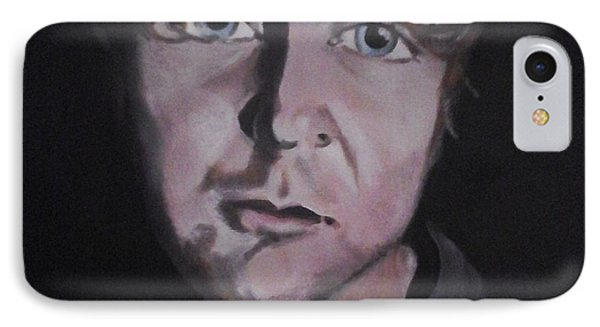 IPhone Case featuring the painting Dean Ambrose Portrait by Susan Solak