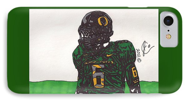 De'anthony Thomas 2 IPhone Case by Jeremiah Colley