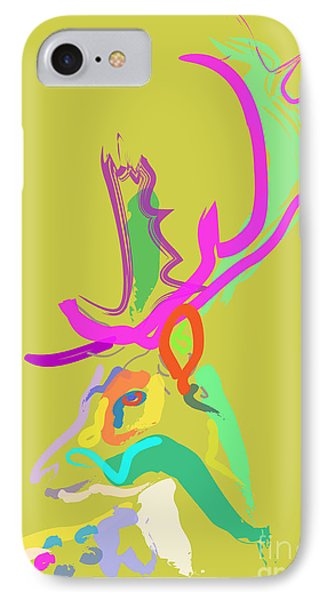 Dear Deer IPhone Case by Go Van Kampen