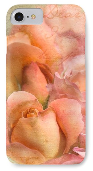 Dear Uncle Walt IPhone Case by Cindy Garber Iverson