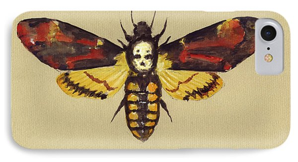 Death Head Hawk Moth IPhone Case