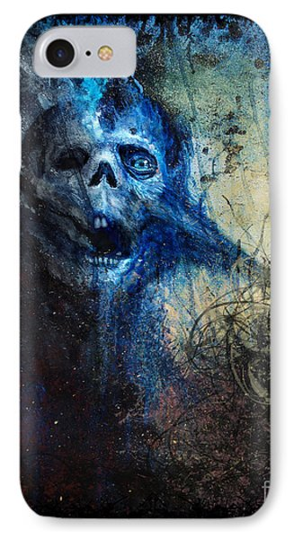 Death Is Staring At Me IPhone Case by Tony Koehl