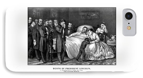 Death Of President Lincoln Phone Case by War Is Hell Store