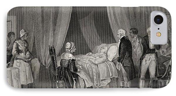 Death Of Washington December 1799 IPhone Case by Vintage Design Pics