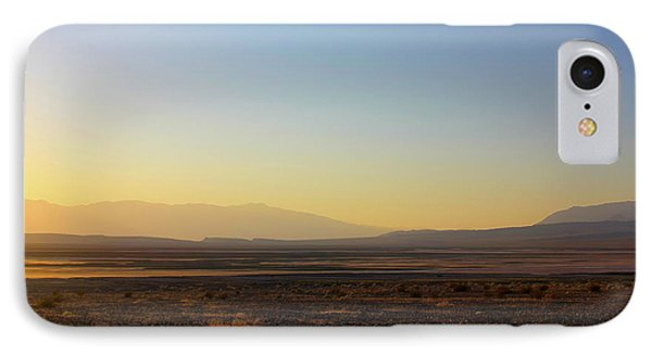 Death Valley -  A Beautiful But Dangerous Place Phone Case by Christine Till