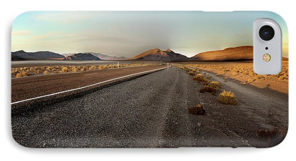 Death Valley Hitch Hiker IPhone Case