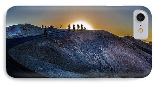 Death Valley National Park Mesquite Flat Zarembski Point IPhone Case by Timothy Kleszczewski