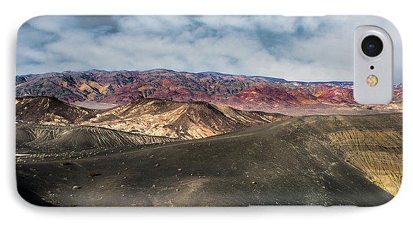 Death Valley National Park Ubehebe Crater IPhone Case