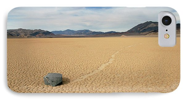 IPhone Case featuring the photograph Death Valley Ractrack by Breck Bartholomew