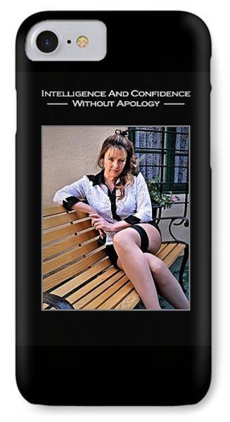 Debra Valentine 1-14 IPhone Case by David Miller