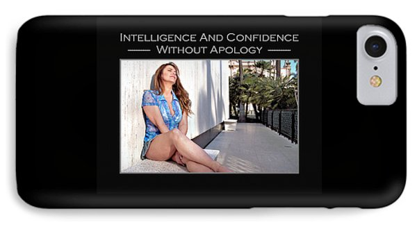 Debra Valentine 4-240 IPhone Case by David Miller