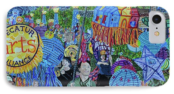 Decatur Lantern Parade Phone Case by Micah Mullen