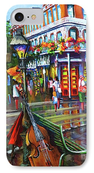 Decatur Street IPhone Case by Dianne Parks