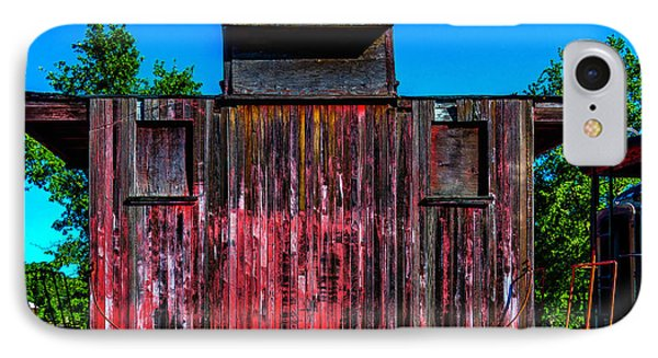 Decaying Caboose IPhone Case by Garry Gay