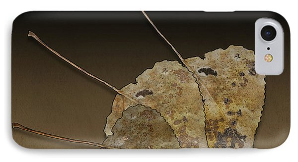 IPhone Case featuring the photograph Decaying Leaves by Joe Bonita