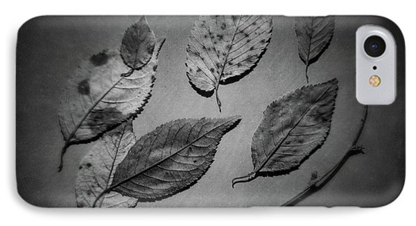 Decaying Leaves IPhone Case by Tom Mc Nemar