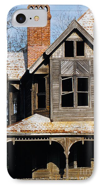 Decaying Victorian House In Florida, Photographed In 1955 IPhone Case