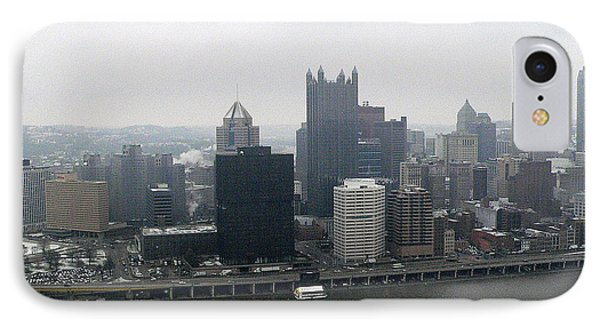 December Pittsburgh Phone Case by David Bearden