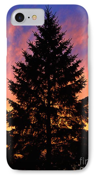IPhone Case featuring the photograph December Sunset by Mark Miller
