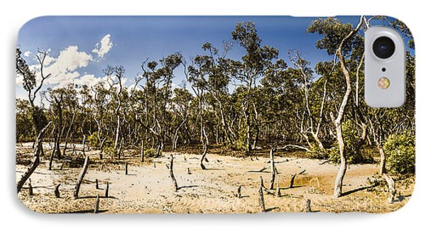 Deception Bay Conservation Park IPhone Case by Jorgo Photography - Wall Art Gallery