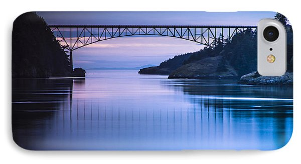 Deception Pass Blues IPhone Case by Tony Locke