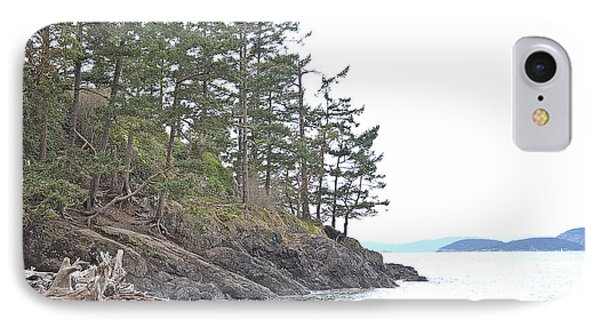 Deception Pass In Late December  IPhone Case by Tobeimean Peter