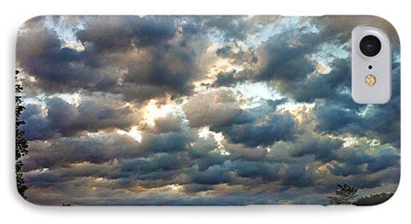 Deceptive Clouds Phone Case by Cricket Hackmann