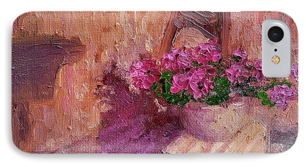 Deck Flowers #2 Phone Case by Brian Kardell