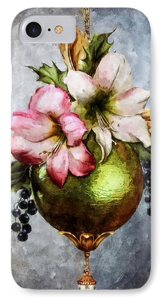 Deck The Halls IPhone Case by Autumn Moon