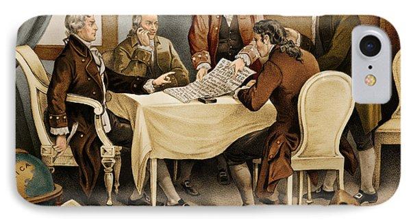 Declaration Committee 1776 IPhone Case