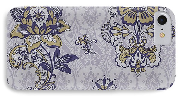 Deco Flower Blue Phone Case by JQ Licensing