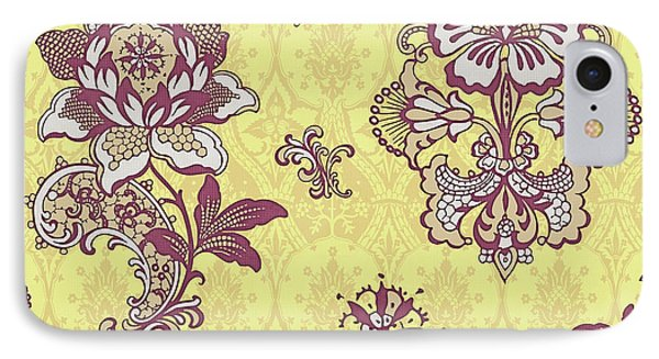 Deco Flower Yellow Phone Case by JQ Licensing