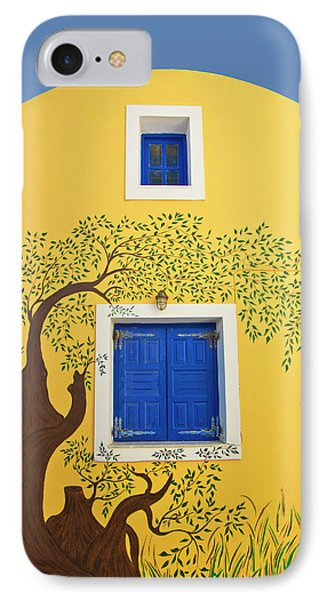 Decorated House Phone Case by Meirion Matthias