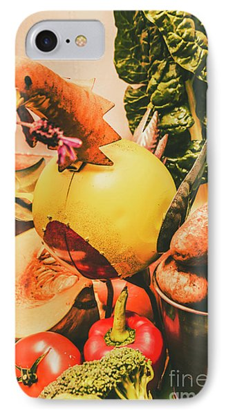 Potato iPhone 7 Case - Decorated Organic Vegetables by Jorgo Photography - Wall Art Gallery
