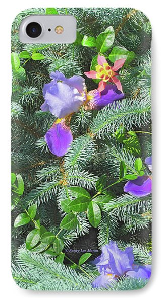 IPhone Case featuring the photograph Decorating For Spring by Nancy Lee Moran