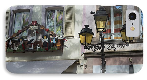 Decoration Of Window In Colmar IPhone Case by Yefim Bam