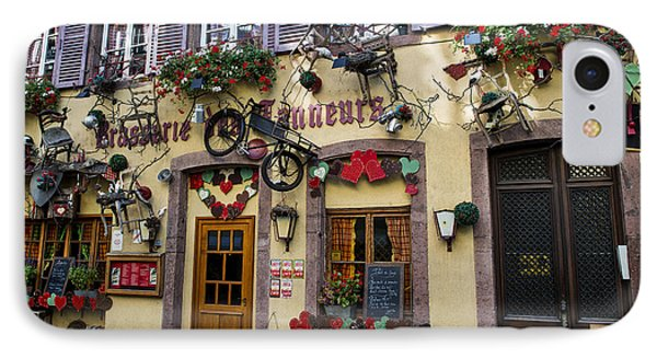 Decoration Of Windows In Colmar IPhone Case by Yefim Bam