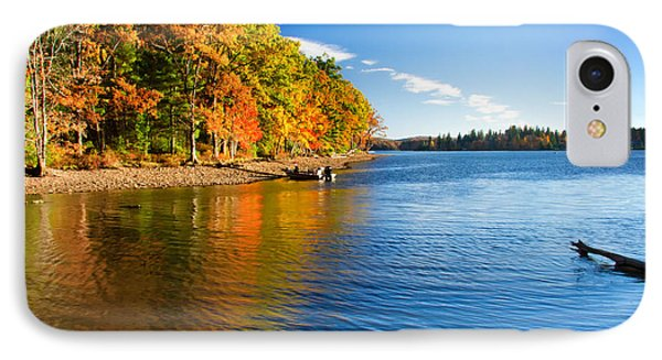 Deep Creek Lake Fall IIi IPhone Case by Neal Blizzard