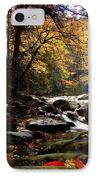 IPhone Case featuring the photograph Deep Creek Mountain Stream by Bob Decker