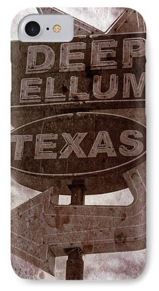 Deep Ellum Texas IPhone Case by Jonathan Davison