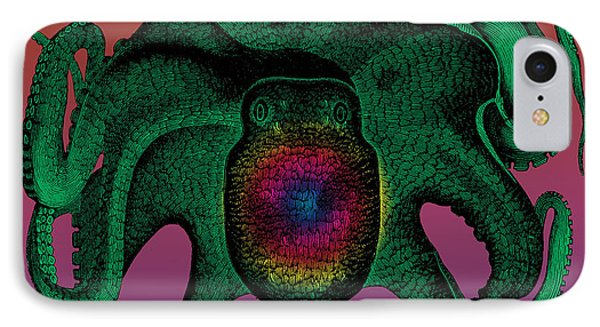 Deep Monster Number Two Phone Case by Eric Edelman