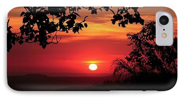 IPhone Case featuring the photograph Deep Orange Sunset by Ellen Barron O'Reilly